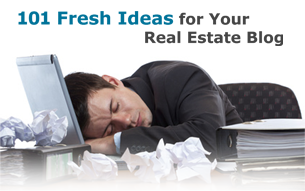 101 Ideas for your Real Estate Blog