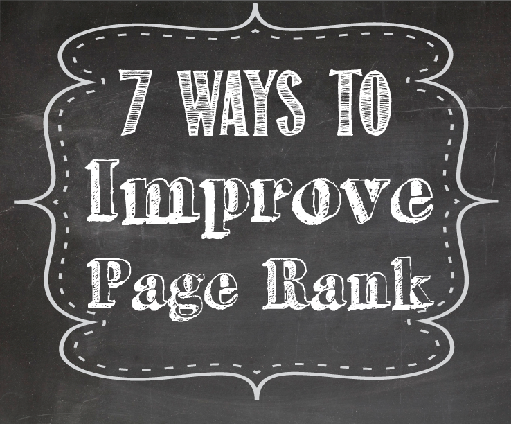 7 Ways to Improve Page Rank